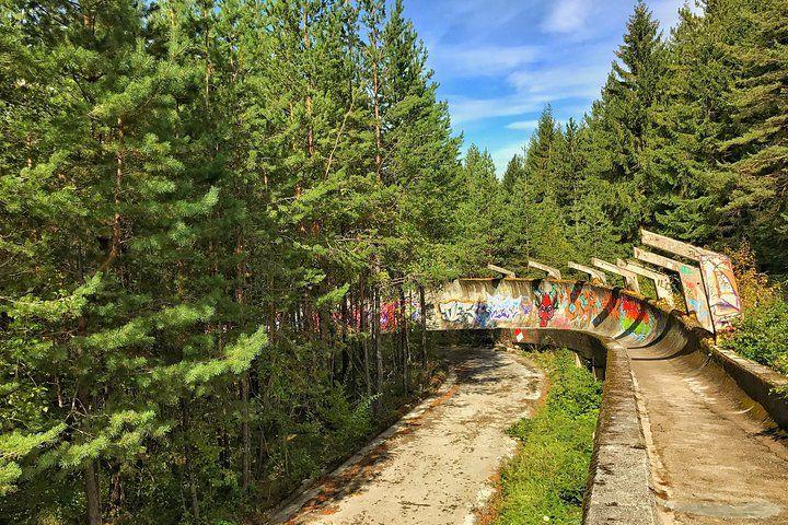 Trebevic Mountain - Bob Sleigh Track