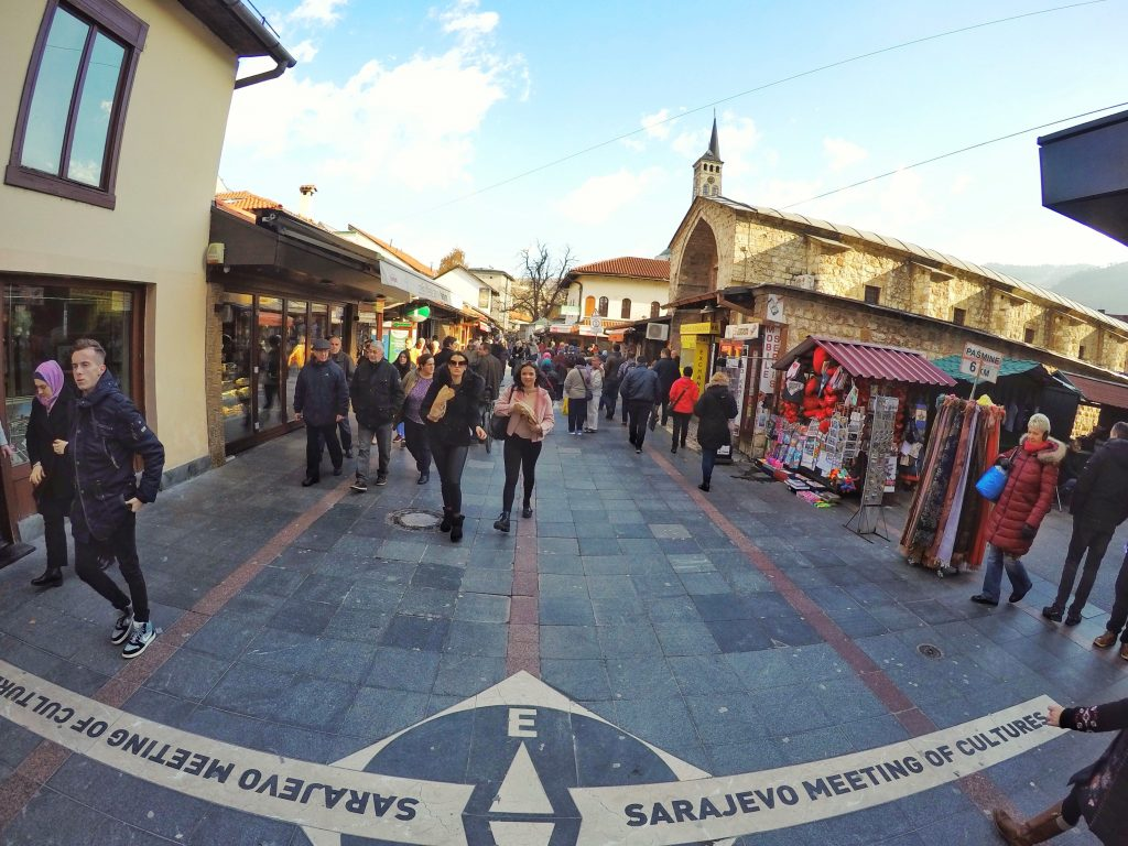 Sarajevo Meeting of Cultures Spot - East Side