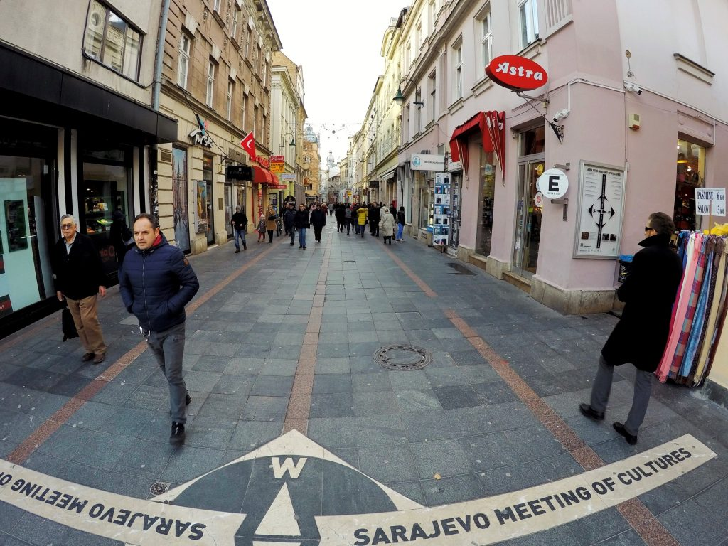 Sarajevo Meeting of Cultures Spot - West Side