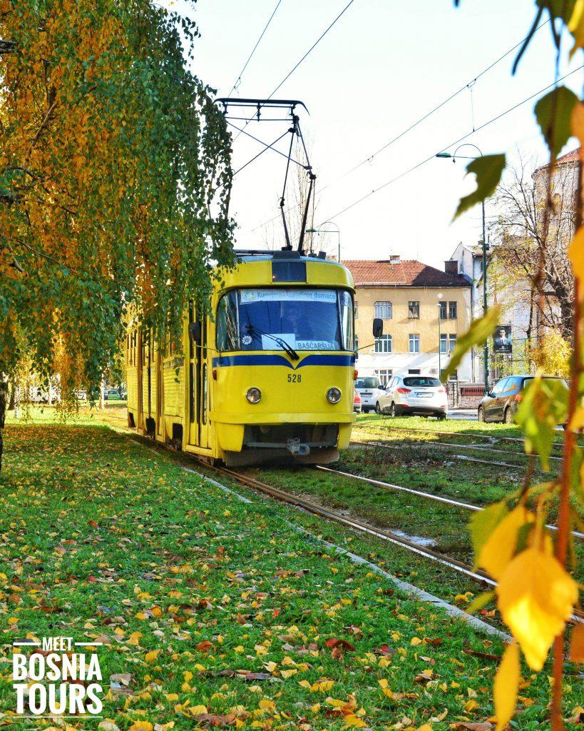Tram RIde in Sarajevo