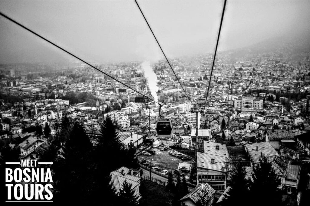 Cable Car Ride at Trebevic Mountain