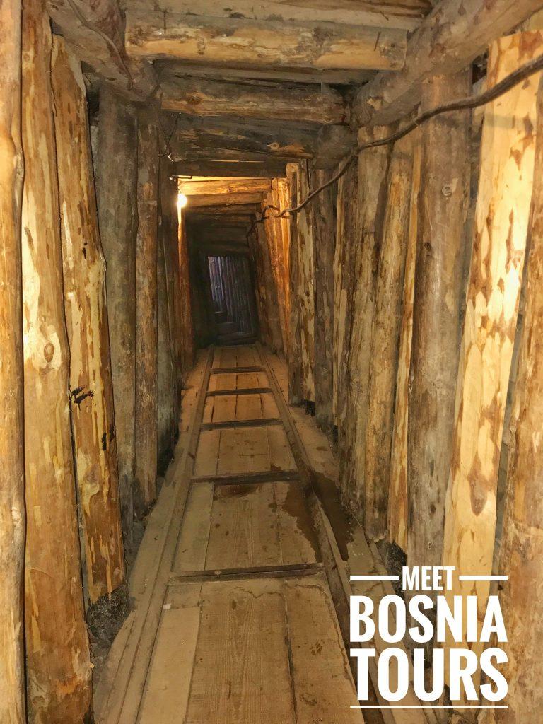 Tunnel of Hope in Sarajevo